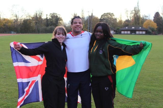 Athletes Rachel, Sam and Kike inspire pupils to Dream a Big Dream